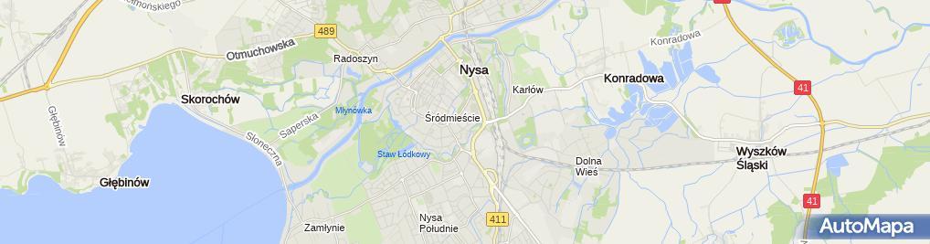Zdjęcie satelitarne F H Jadzia