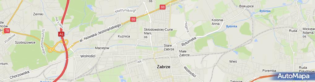 Zdjęcie satelitarne F H Modart Fashion Maruszak Barbara Płaszczyk Sylwia