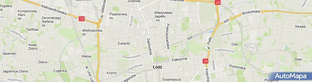 Zdjęcie satelitarne F H Pazurek