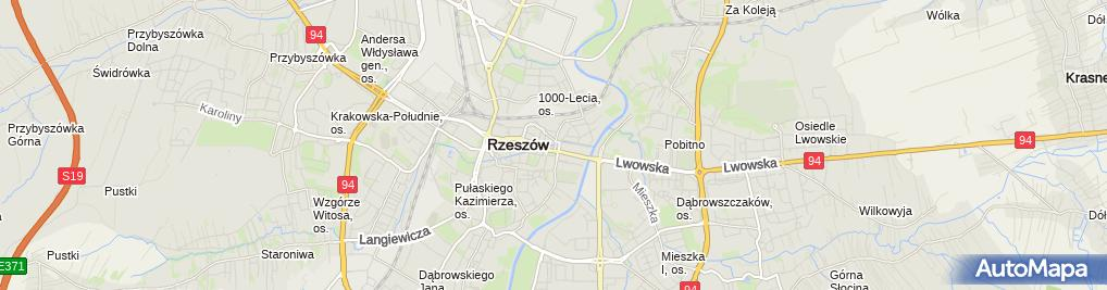 Zdjęcie satelitarne F.H.U.Gala Zdzisława Trybuła