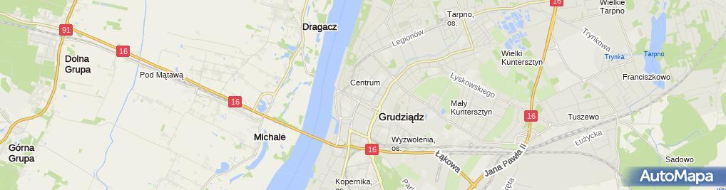 Zdjęcie satelitarne F.H.U.Piasta - Mariusz Piasta