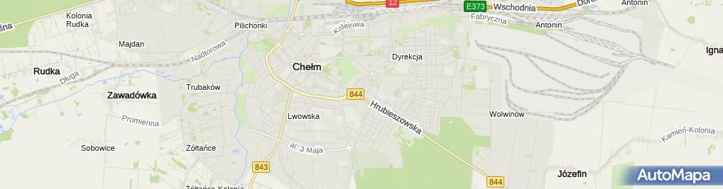 Zdjęcie satelitarne F.U.H.Amar Mariusz Szelążek