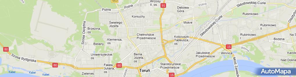 Zdjęcie satelitarne FABISIAK i S-ka Spółka Cywilna