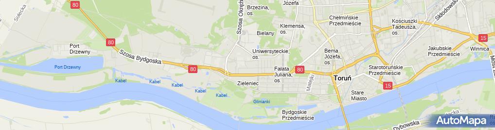 Zdjęcie satelitarne Federacja Klubów Szaradzistów