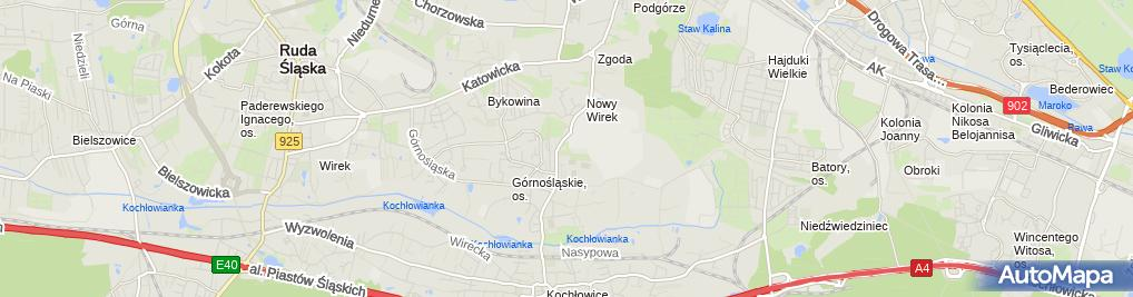 Zdjęcie satelitarne Fedyk Piotr Iq Controls