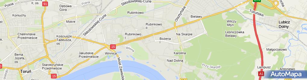 Zdjęcie satelitarne Filip Wańczycki Firma Usługowa