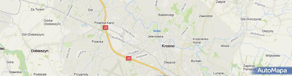 Zdjęcie satelitarne Firma Acz Niepokój Andrzej Jadwiga Niepokój