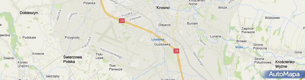Zdjęcie satelitarne Firma Alero Aleksandra Wójtowicz Robert Wójtowicz