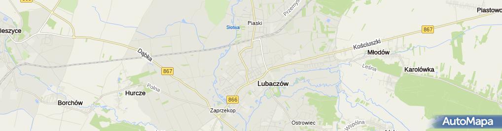 Zdjęcie satelitarne Firma Aliszja