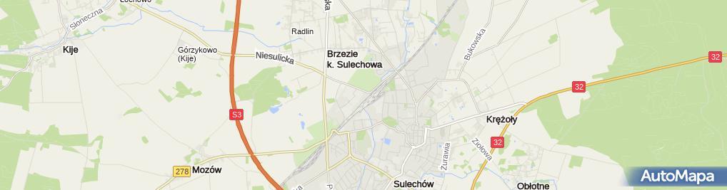Zdjęcie satelitarne Firma Eko-Janas Janas Jarosław