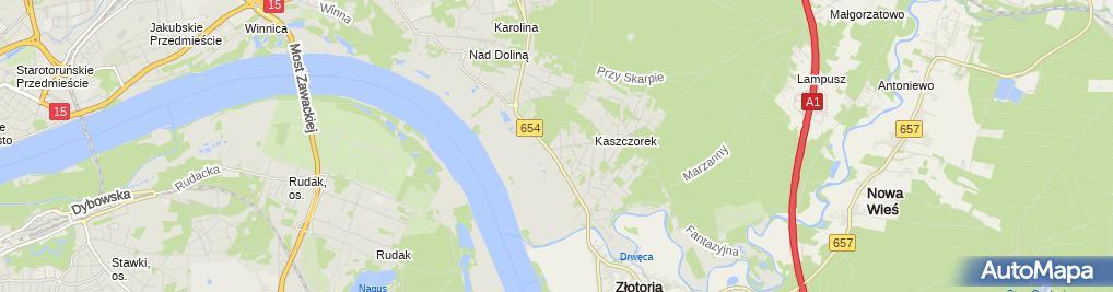 Zdjęcie satelitarne Firma, Handel, Produkcja, Export-Import Bella Stanisław Cieślak