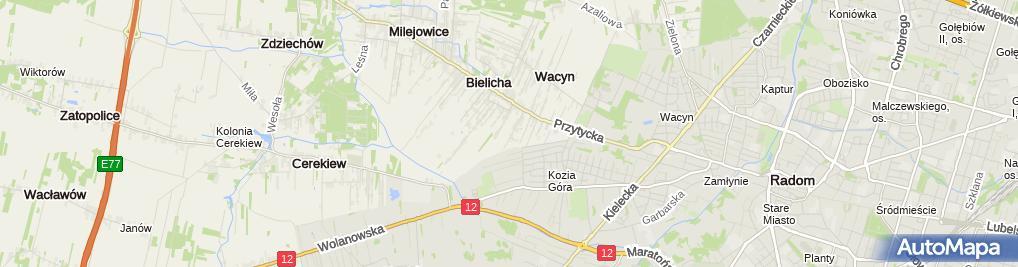Zdjęcie satelitarne Firma Handlowa 'Jowita' Krzysztof Siadaczka