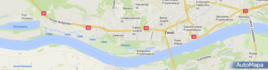 Zdjęcie satelitarne Firma Handlowa Jarek