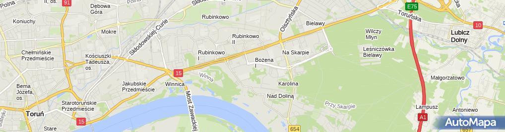 Zdjęcie satelitarne Firma Handlowa KJN Krzysztof Jerzy Nawrotek
