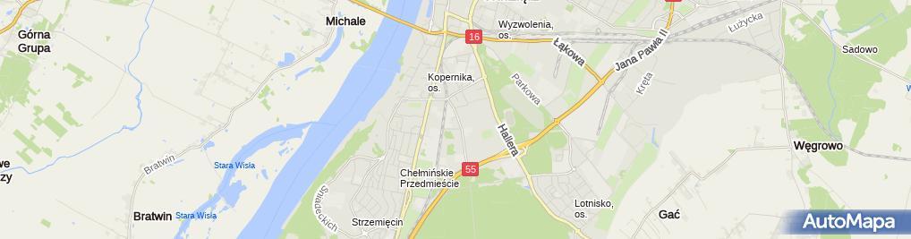 Zdjęcie satelitarne Firma Handlowa Nico - Marcin Mielczarek