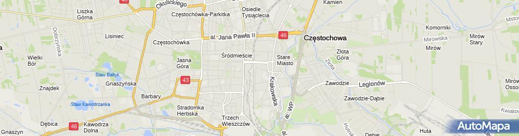 Zdjęcie satelitarne Firma Handlowa Otkar-T Teresa Stoińska
