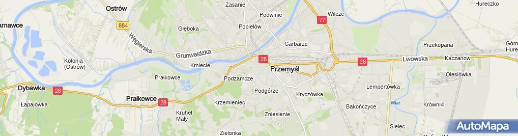 Zdjęcie satelitarne Firma Handlowa Pajf A Wesołowska M Bujdasz