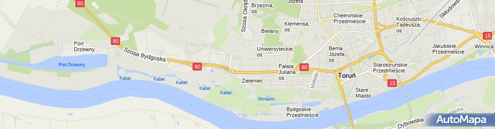 Zdjęcie satelitarne Firma Handlowa - Plus Małgorzata Lisewska