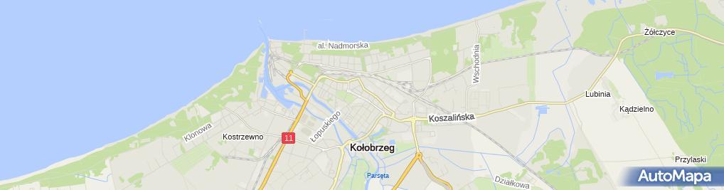 Zdjęcie satelitarne Firma Handlowa Sklep Oliwia Józef Swajdo