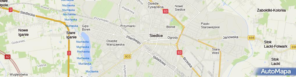 Zdjęcie satelitarne Firma Handlowa Usługowa Elpex