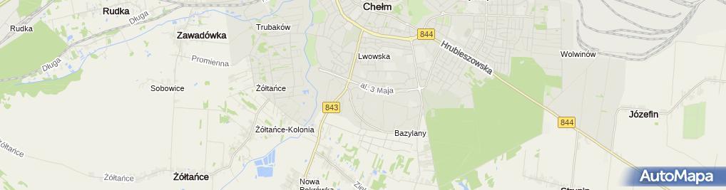 Zdjęcie satelitarne Firma Handlowa