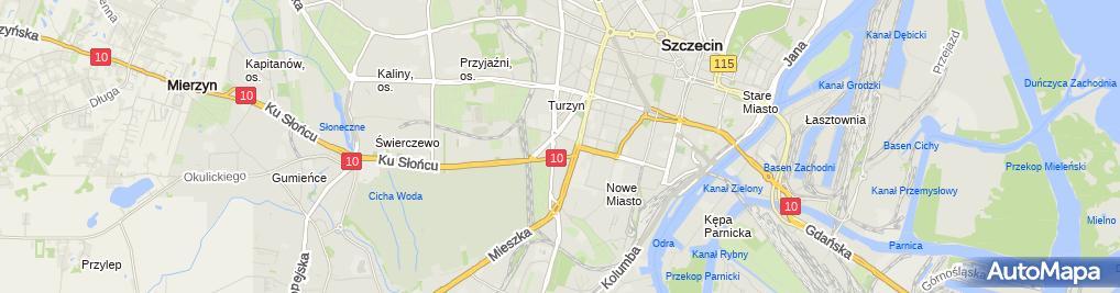 Zdjęcie satelitarne Firma Handlowo Akwizycyjna