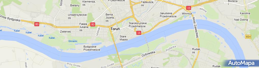 Zdjęcie satelitarne Firma Handlowo Gastronomiczna Grepo Lidia Brzezińska Grzegorczyk Rafał Porosa