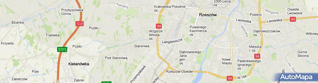Zdjęcie satelitarne Firma Handlowo Produkcyjno Usługowa Domaflo Adam Woźny