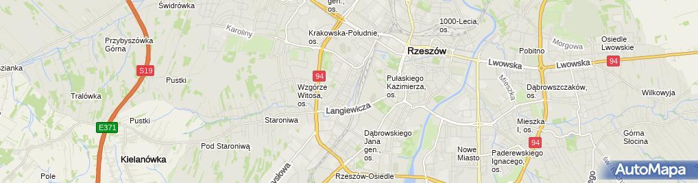 Zdjęcie satelitarne Firma Handlowo Produkcyjno Usługowa Hasta
