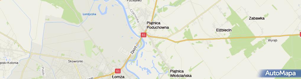 Zdjęcie satelitarne Firma Handlowo Produkcyjny E Rogalska