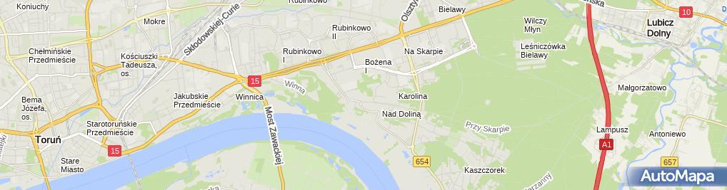 Zdjęcie satelitarne Firma Handlowo Usługowa ''''Tradex-Bud Narzędzia Radosław Jarząbkowski