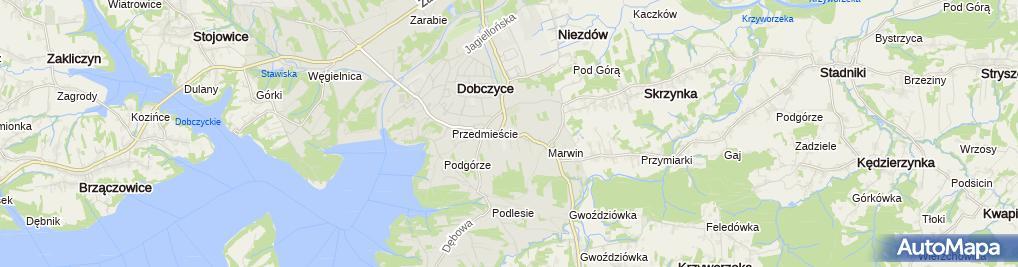 Zdjęcie satelitarne Firma Handlowo Usługowa Batervolt