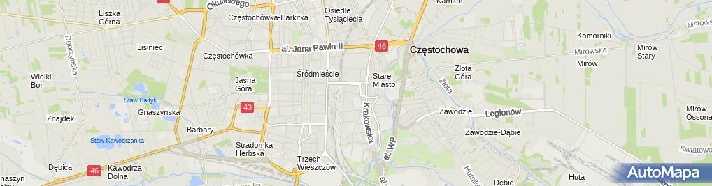 Zdjęcie satelitarne Firma Handlowo-Usługowa Bogdan Kardyński / Skrót: Fhu Bogdan Kardyński