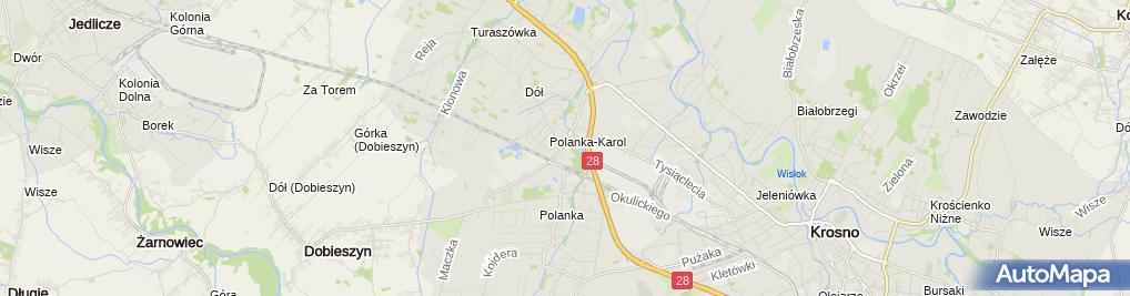 Zdjęcie satelitarne Firma Handlowo Usługowa Comnet