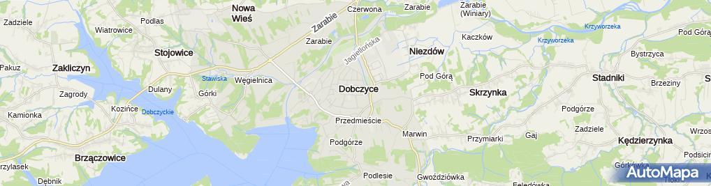 Zdjęcie satelitarne Firma Handlowo Usługowa Dekor