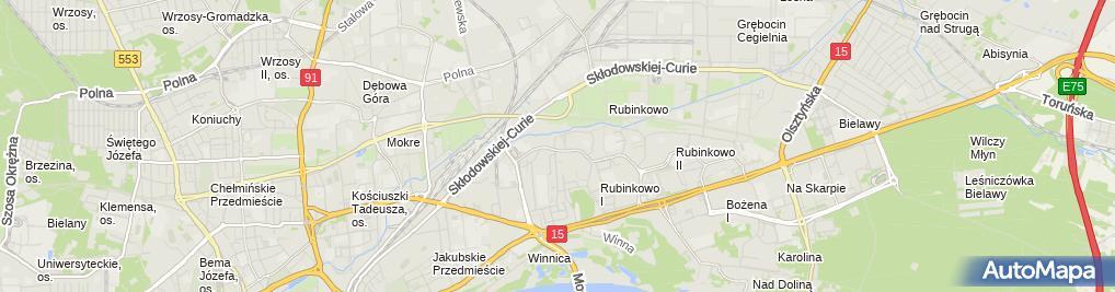 Zdjęcie satelitarne Firma Handlowo Usługowa Dorota Lendzioszek