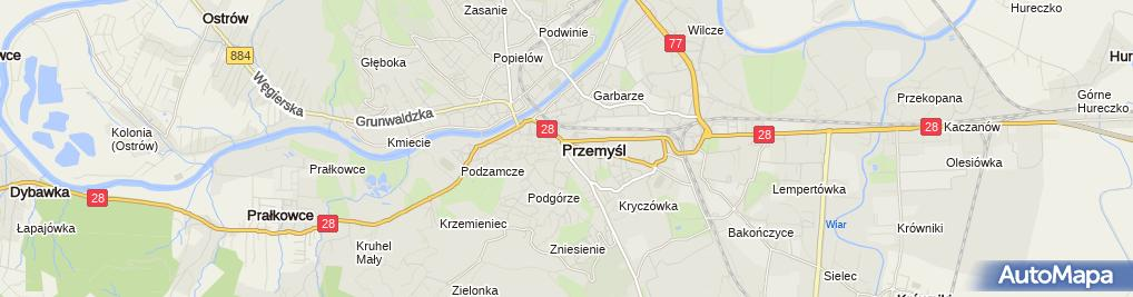 Zdjęcie satelitarne Firma Handlowo Usługowa Elza Elżbieta Urban Gudzelak