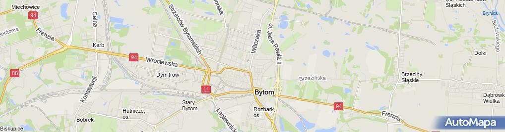 Zdjęcie satelitarne Firma Handlowo-Usługowa Głąbik Piotr Głąbik