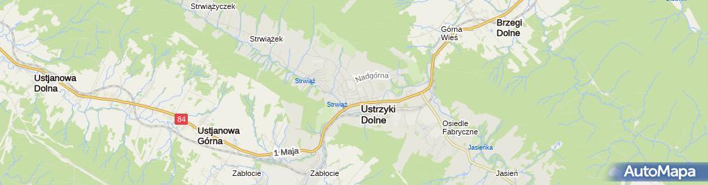 Zdjęcie satelitarne Firma Handlowo Usługowa Górnik