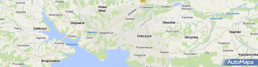 Zdjęcie satelitarne Firma Handlowo Usługowa Grzegorz Cygan Józef Cygan