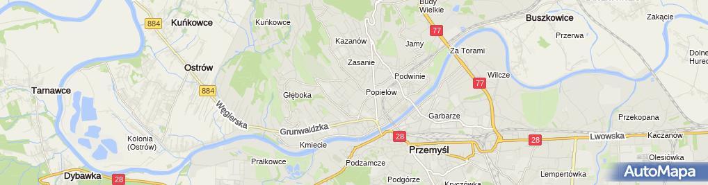 Zdjęcie satelitarne Firma Handlowo Usługowa Jandex