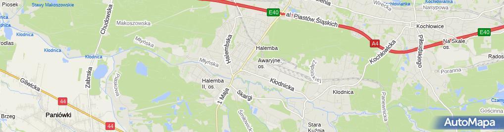 Zdjęcie satelitarne Firma Handlowo-Usługowa Jmdu Marcin Dym