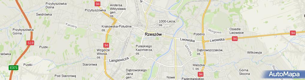 Zdjęcie satelitarne Firma Handlowo Usługowa Małgorzata Barłowska Halina Cyrek