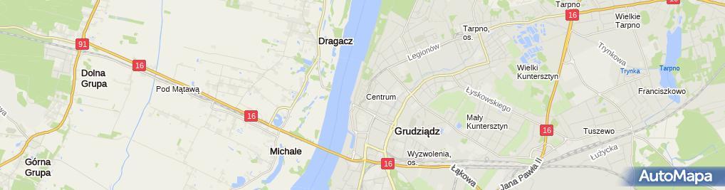 Zdjęcie satelitarne Firma Handlowo-Usługowa Nova - Gabriel Professional Piotr Dołżyc