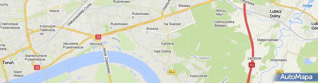 Zdjęcie satelitarne Firma Handlowo Usługowa P Zajko Zajko Paweł