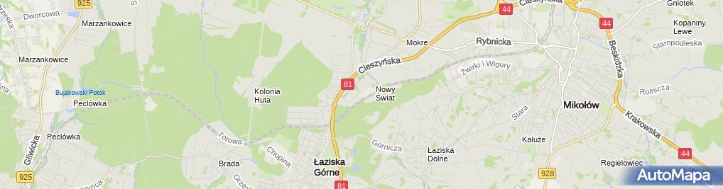Zdjęcie satelitarne Firma Handlowo Usługowa Pol-Gum Iwona Karamuz