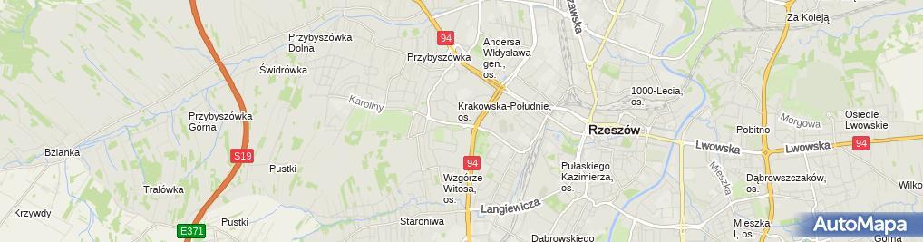 Zdjęcie satelitarne Firma Handlowo-Usługowa Propan Andrzej Oćwieja