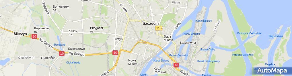 Zdjęcie satelitarne Firma Handlowo - Usługowa Świt Wojciech Świtała