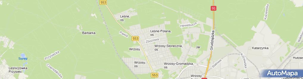 Zdjęcie satelitarne Firma Handlowo Usługowa Szotowicz Marek Szotowicz Piotr