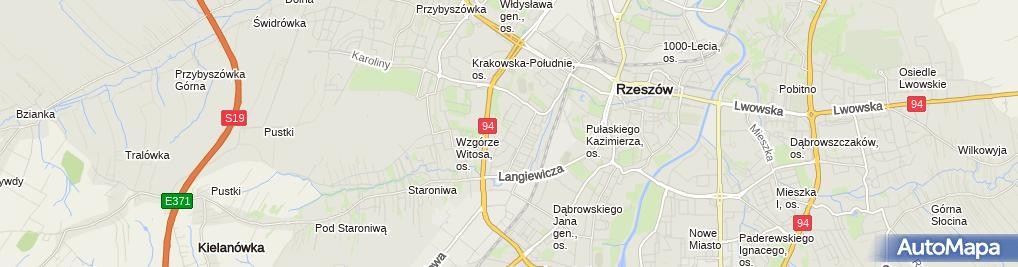 Zdjęcie satelitarne Firma Handlowo-Usługowa Waldek Van Elder Paweł